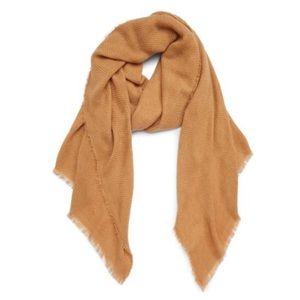 Sole society oversized blanket scarf- Camel